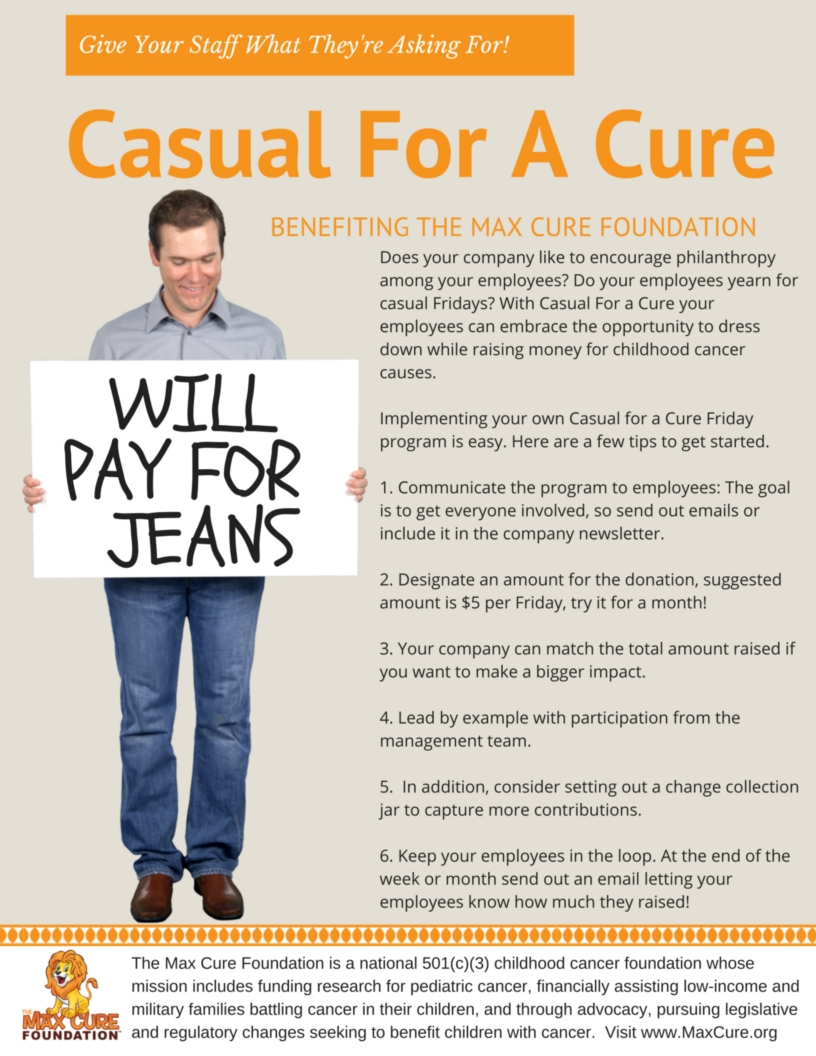 Casual For A Cure